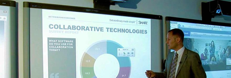 ecrans interactifs